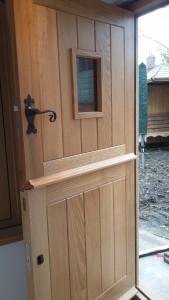 Solid Oak Door a