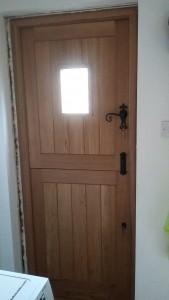 Solid Oak Doors b